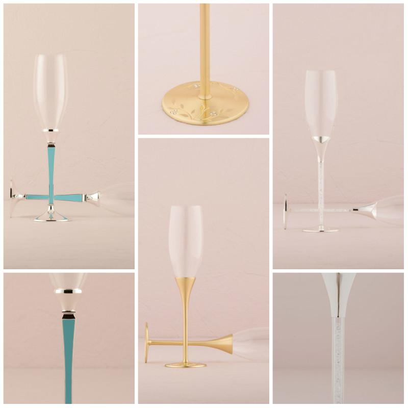 Луксозни Сватбени Чаши