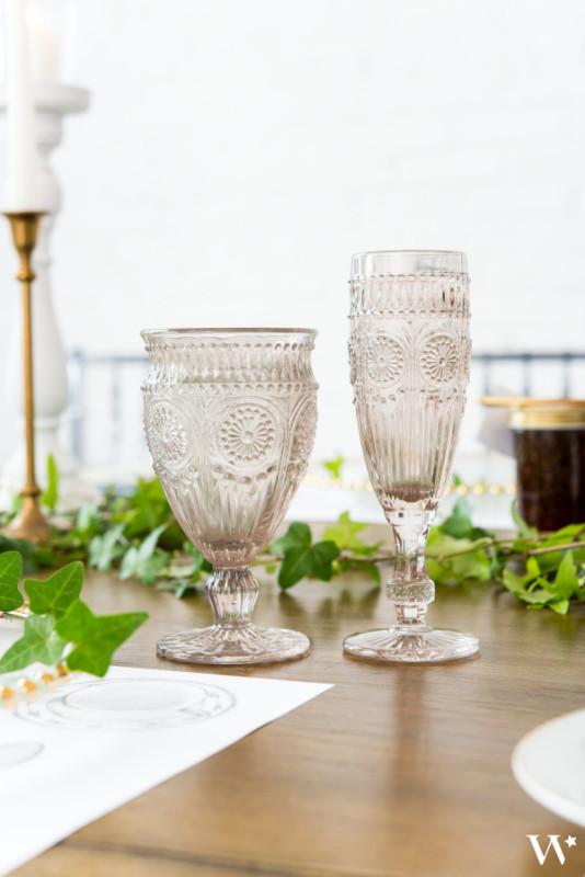 Сватбени чаши-Винтидж стил