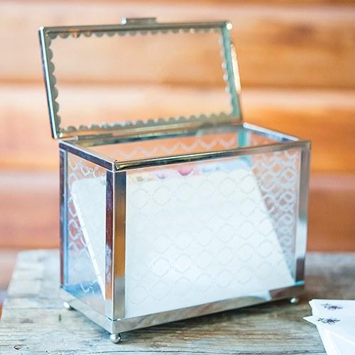 Декоративна стъклена кутия