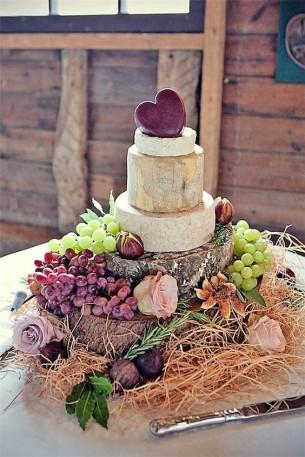 Сватбена торта от сирена