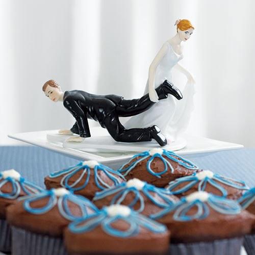 Забавна фигурка за торта-Надмощието на булката