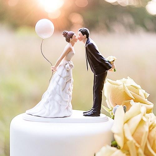 Фигурки за торта-Сватбена целувка