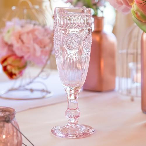 Vintage чаша в розово