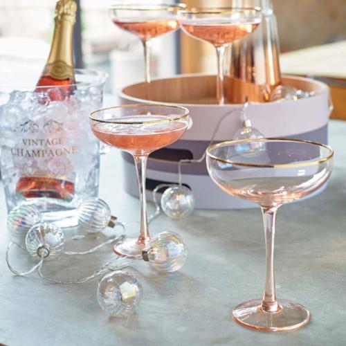 Класическа чаша за шампанско-купа