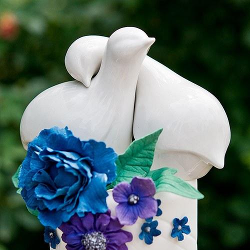 Фигурки за сватбена торта-Влюбените птички